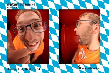 Fotobox Ausdruck Oktoberfest 2er set